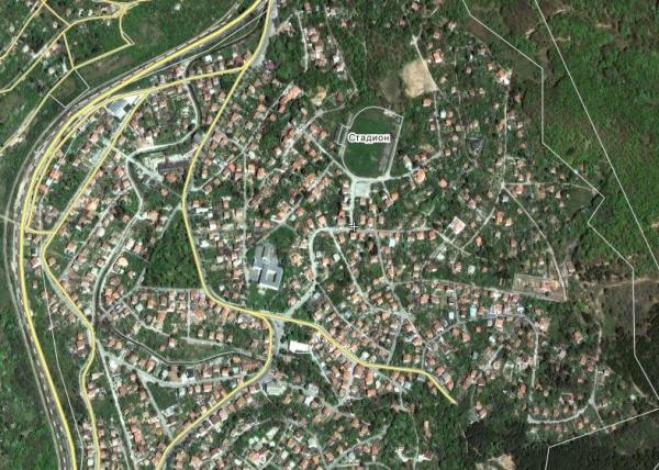 Сателитна снимка на Владая в Wikimapia