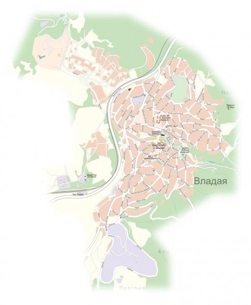 Карта на Владая