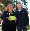 Цветанка Здравкова и Орлин Ваташки - кандидати от БСП Лява България за кметове на Владая и район Витоша