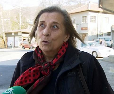 Евгения Стойчева за 30 години на ремонтираната улица Рудище